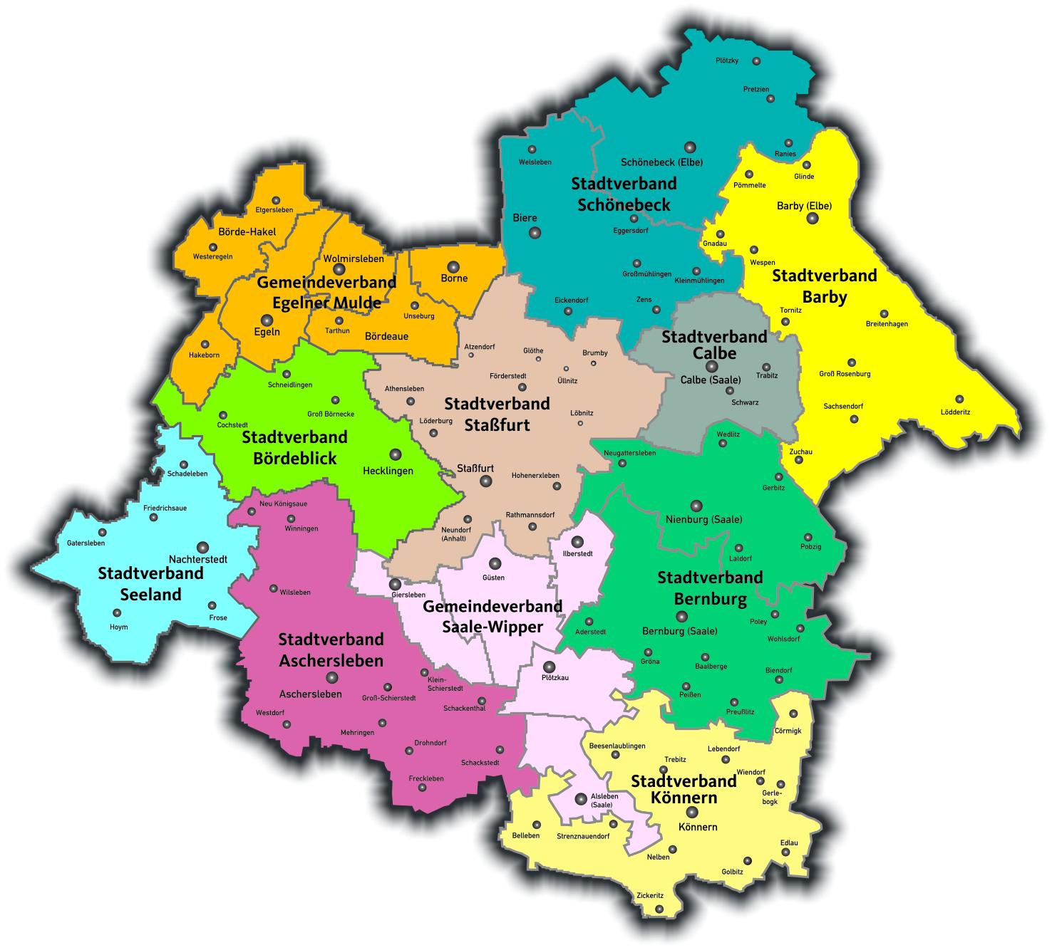 Kreiskarte CDU Salzland